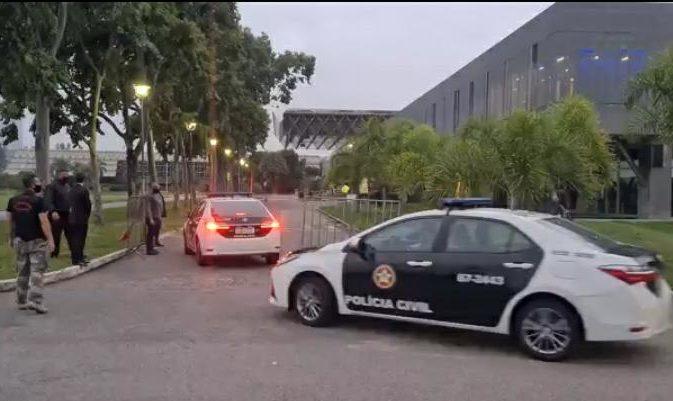 Imagem de viaturas da Polícia Civil