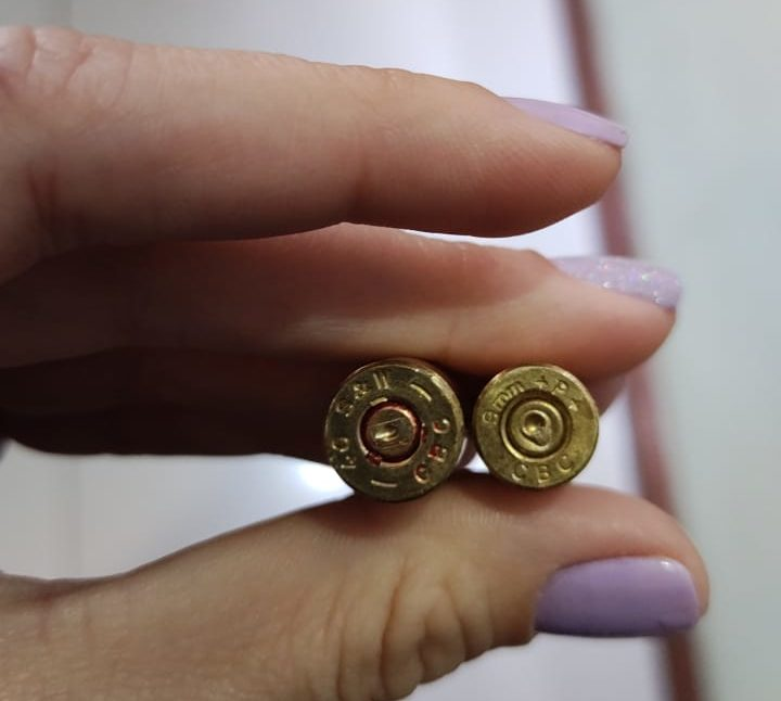 Fragmentos de bala perdida