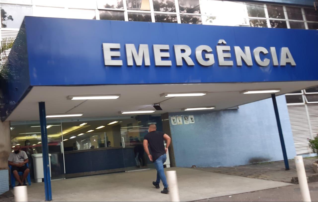 Emergência do Hospital Municipal Albert Schweitzer, na Zona Oeste do Rio