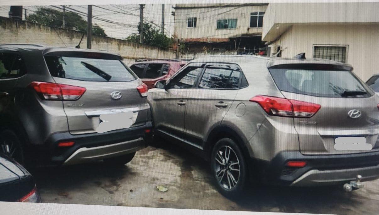 carros clonados apreendidos