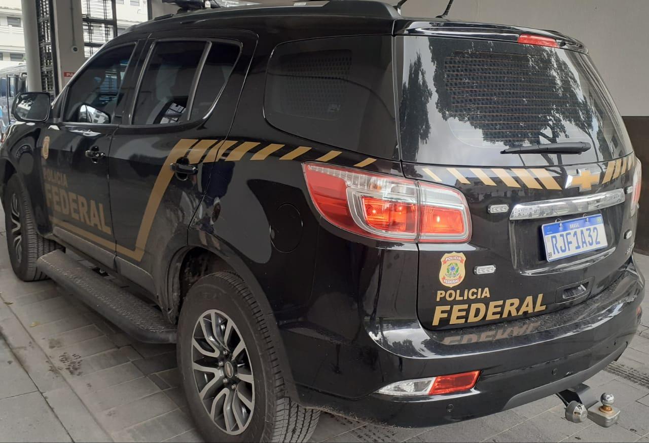 Viatura da Polícia Federal