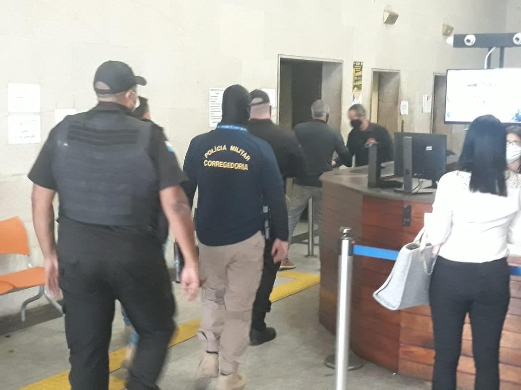 operação contra milícia de Mesquita