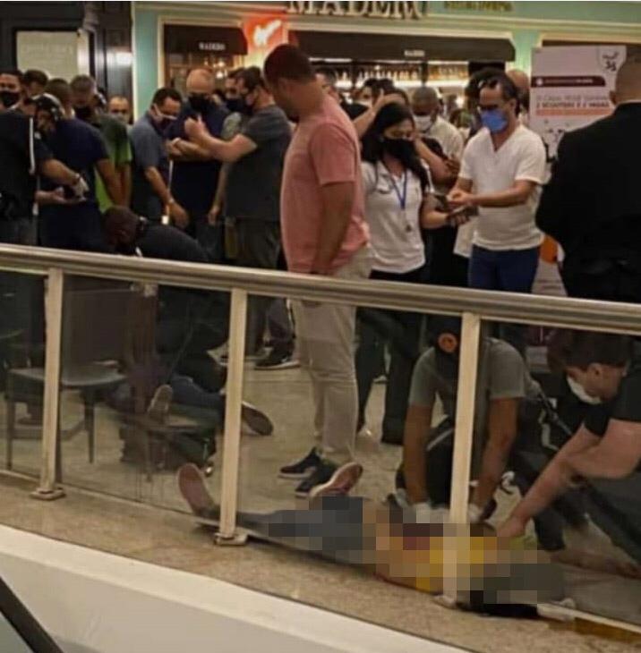 Morre mulher morre após ser esfaqueada em Shopping