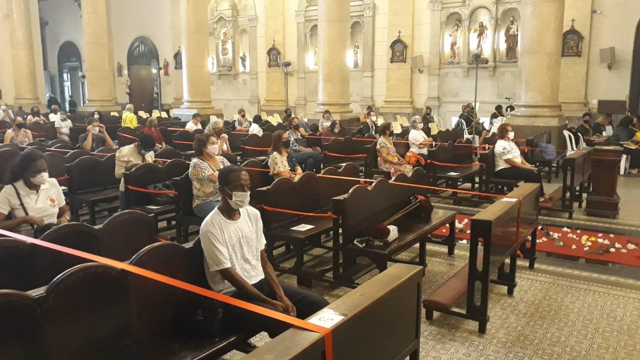 Igreja de Sant'Ana, no Centro do Rio