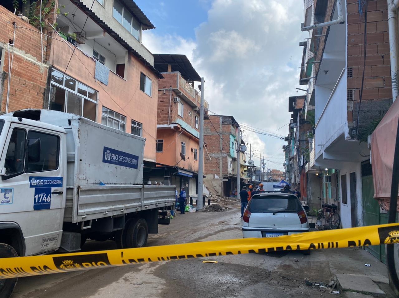 Demolição no Rio das Pedras