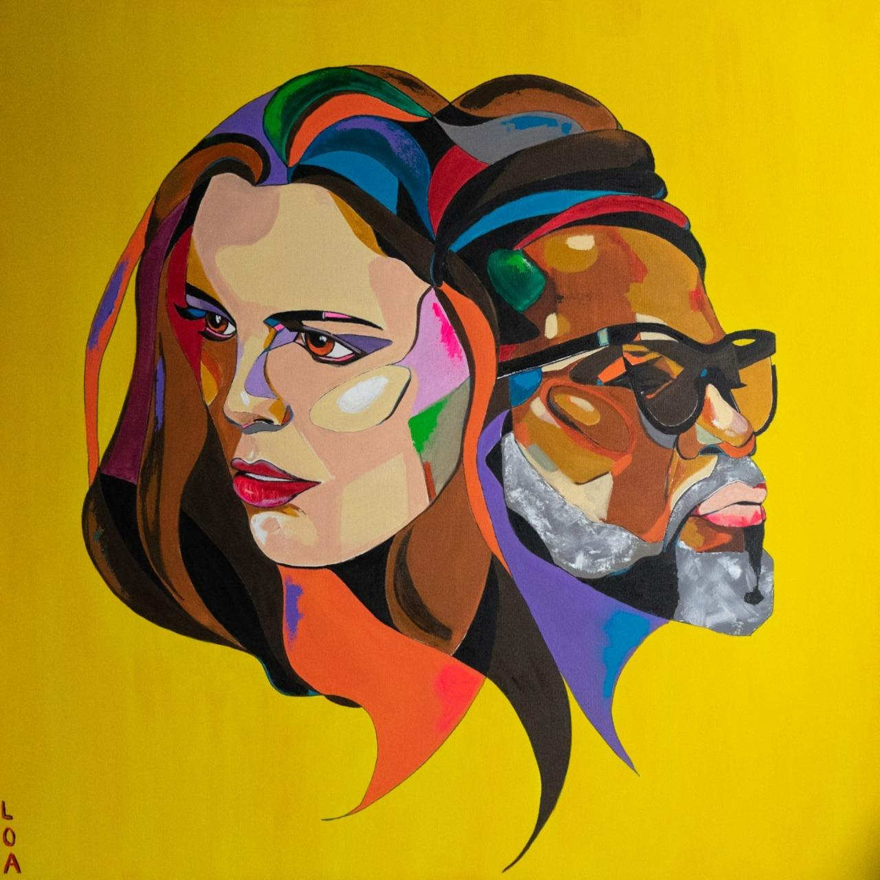 Nanda Garcia e Carlinhos Brown lançam nova versão de 'Amor I Love You'