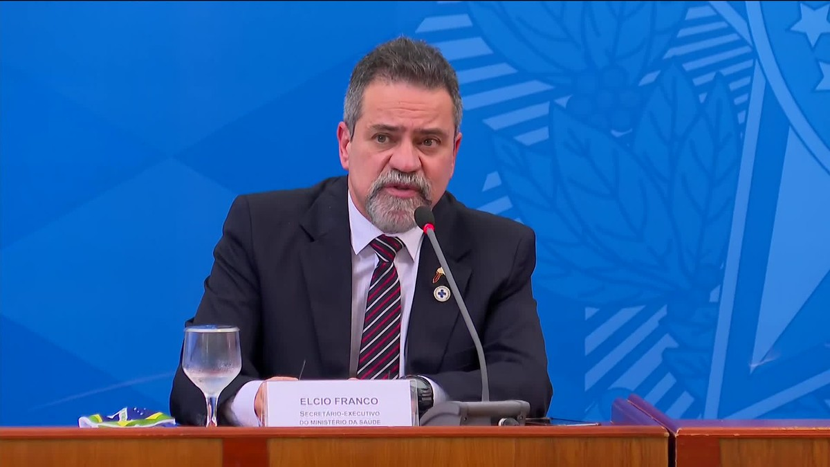 Élcio Franco, ex-secretário-executivo, em depoimento