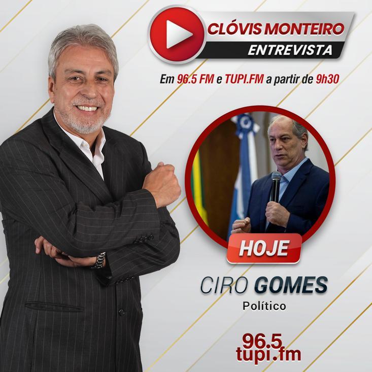 Ciro no Show do Clóvis Monteiro