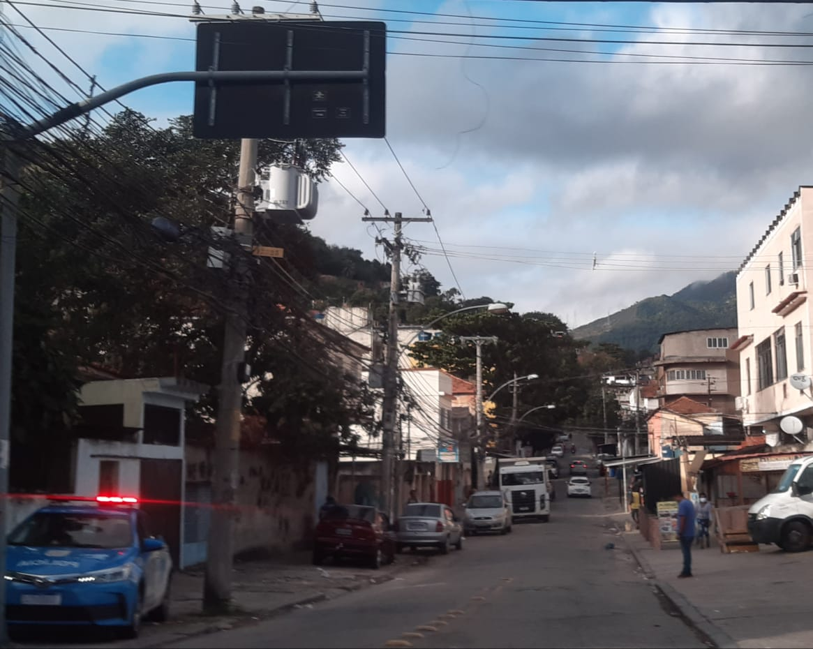 Morro São João (Foto: Cyro Neves / Super Rádio Tupi)