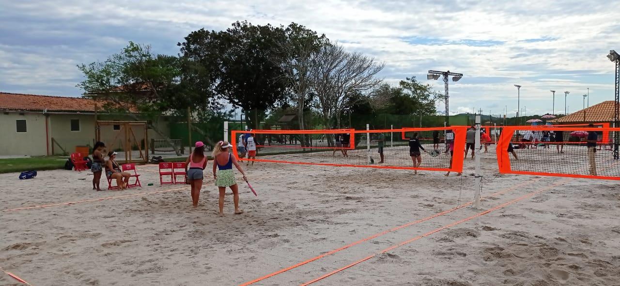 Clube Aretê recebe Copa Alive de Beach Tennis, em Búzios