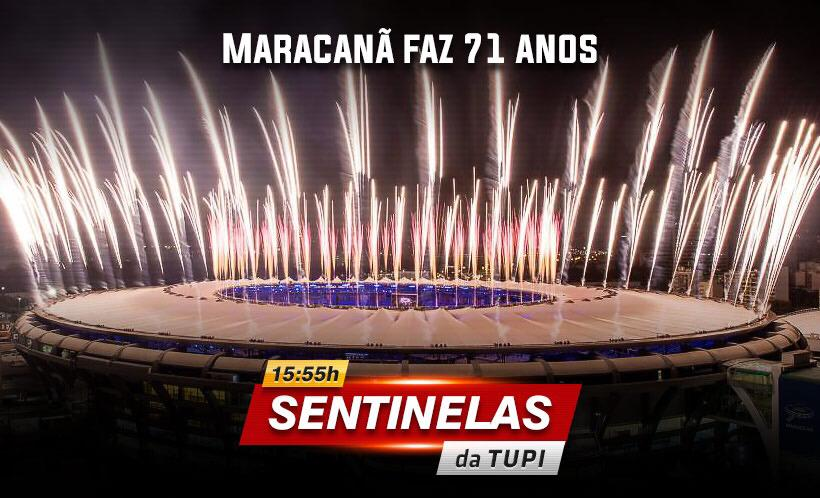 Maracanã faz 71 anos nesta quarta-feira (Foto: Erika Corrêa/ Divulgação: Super Rádio Tupi)
