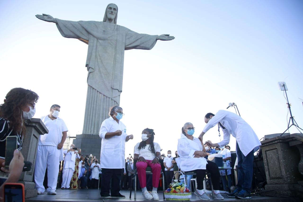 Vacinação no Rio. Foto: Marcos de Paula / Prefeitura do Rio