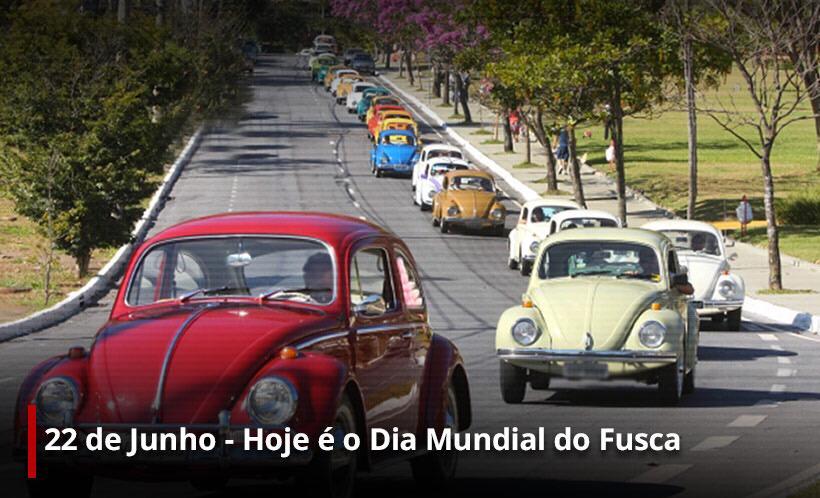 Dia Mundial do Fusca (Foto: Erika Corrêa/ Divulgação: Super Rádio Tupi)