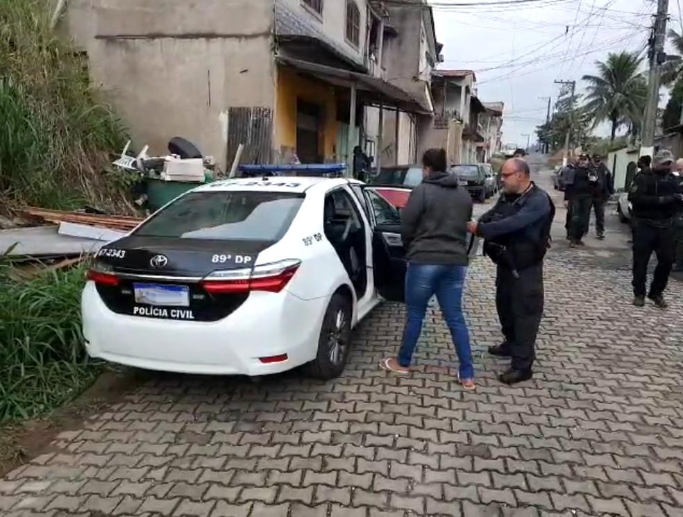 Preso pela Polícia Civil