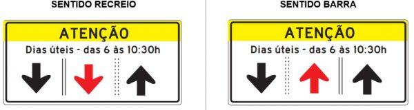 Imagem de uma placa de sinalização