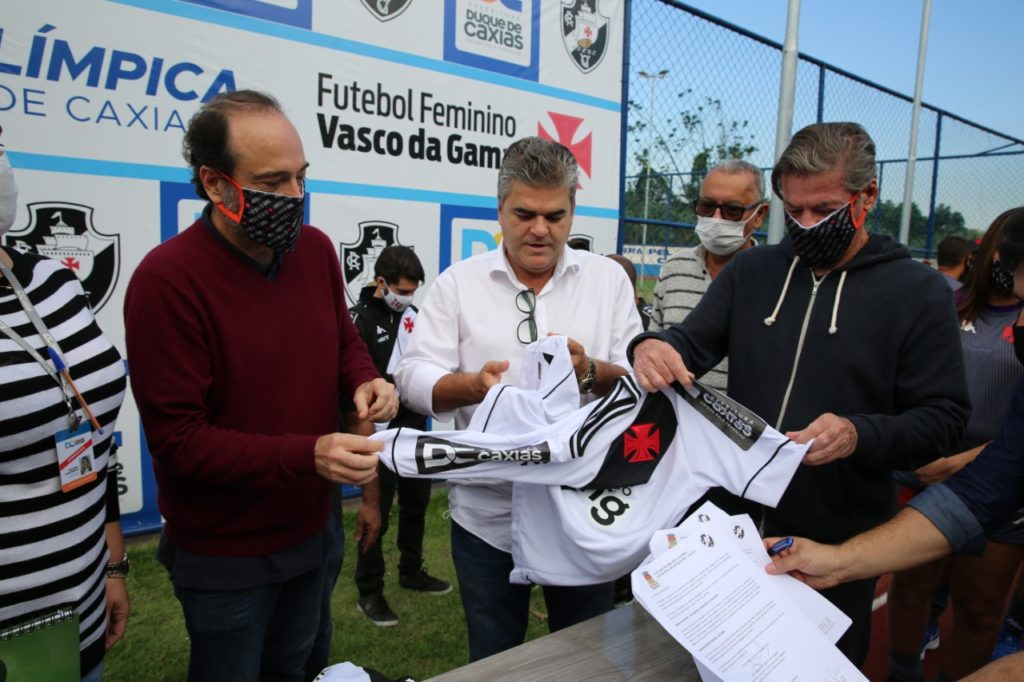 Prefeitura de Duque de Caxias assina parceria com Vasco da Gama