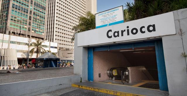 Estação Carioca recebe ação de conscientização sobre o uso de drogas