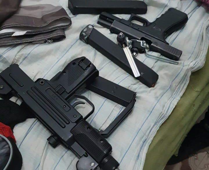 armas apreendida pela Polícia Civil