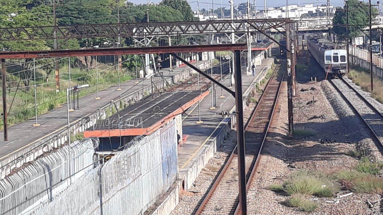 Estação de trem em Bento Ribeiro