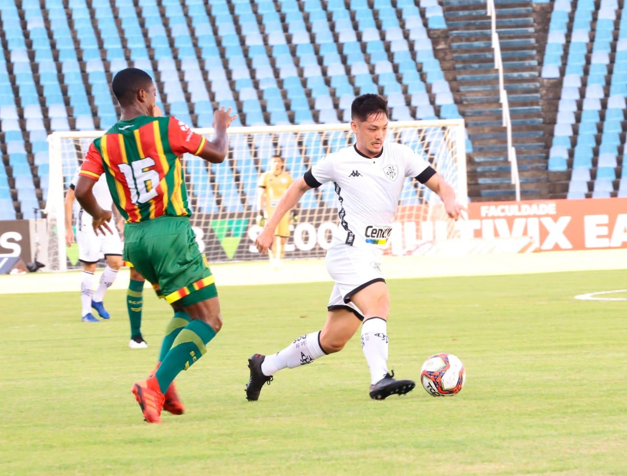 Botafogo foi prejudicado pela arbitragem contra o Sampaio