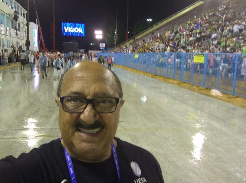 Jorge Cardoso fará o seu terceiro carnaval pela Viradouro