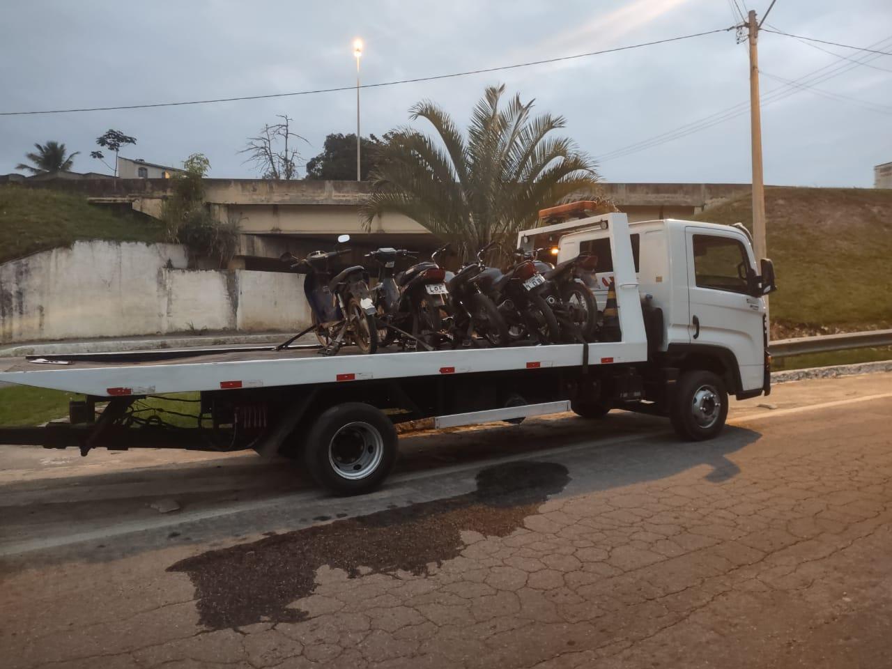 PRF intensifica fiscalização de motocicletas em todo Rio de Janeiro