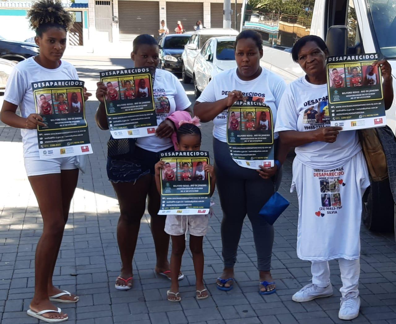 Família Crianças Desaparecidas Belford Roxo