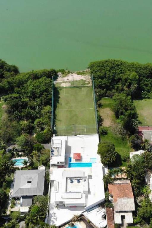 Casa do Romário na Barra da Tijuca que vai a leilão