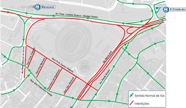 Mapa de Trânsito