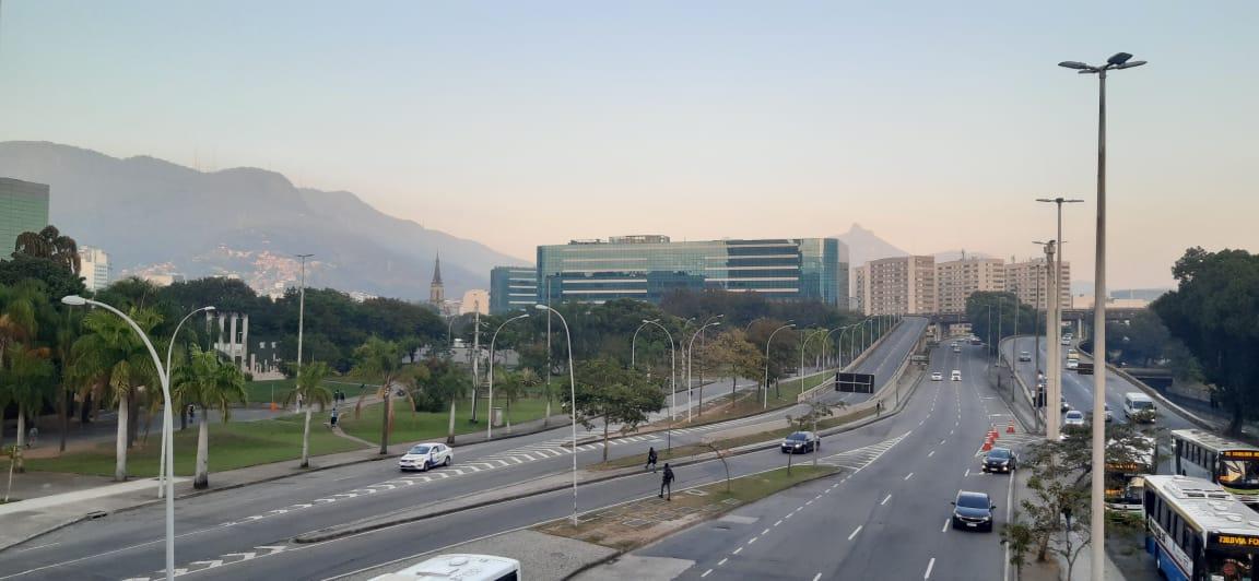 Previsão do tempo, Cidade Nova, Rio (Foto: Victor Yemba/ Divulgação: Super Rádio Tupi)
