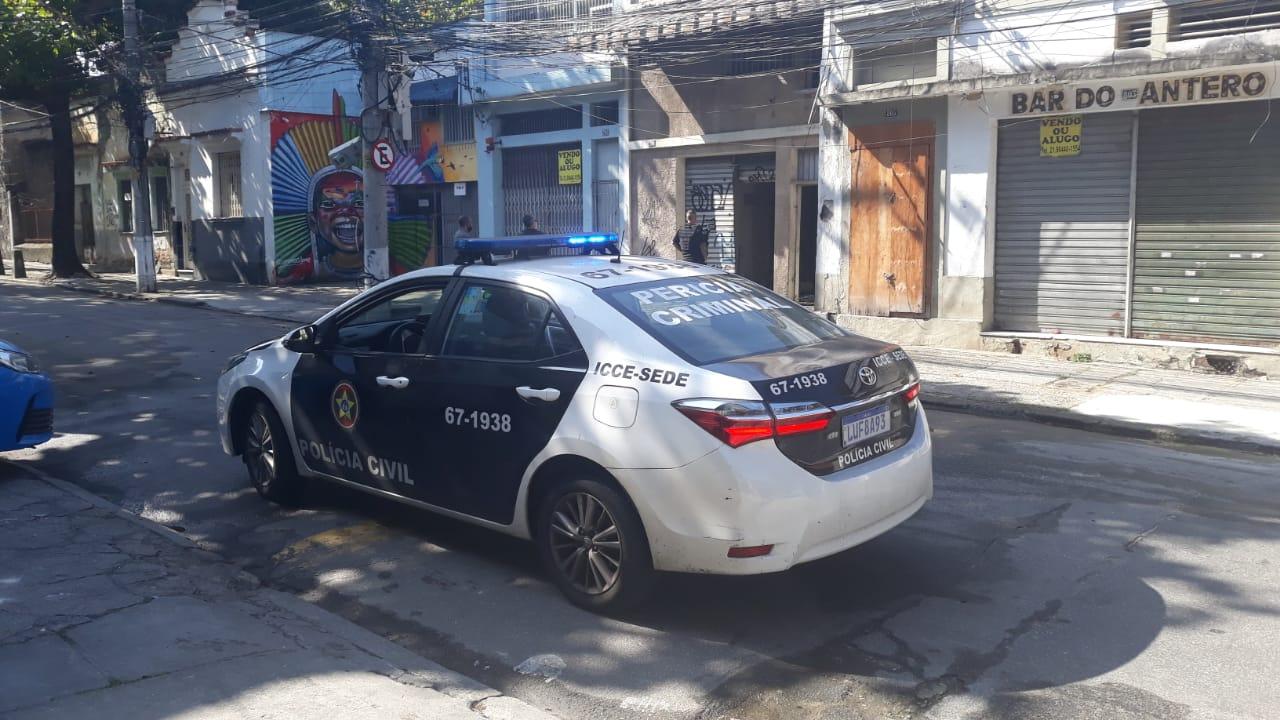 PM reforça patrulhamento nas ruas de São Cristóvão após incêndio (Divulgação)