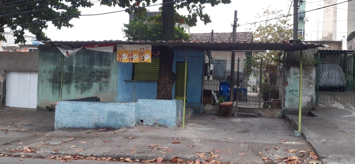 Rua Mauro, Vigário Geral, Zona Norte do Rio (Foto: Cyro Neves/ Divulgação: Super Rádio Tupi)