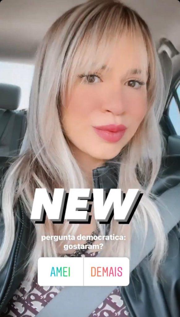 Marília Mendonça com novo visual