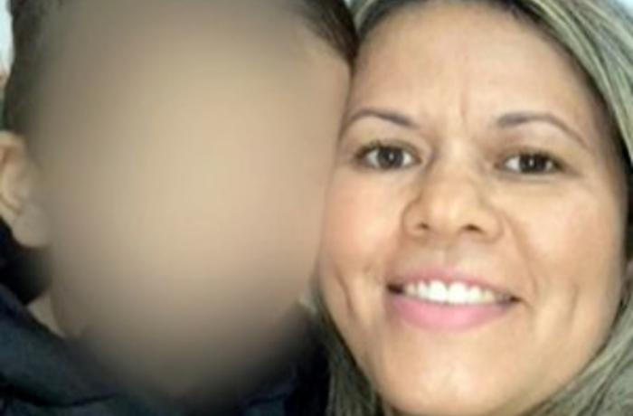 Na imagem, mãe que foi presa acusada de forjar sequestro do filho