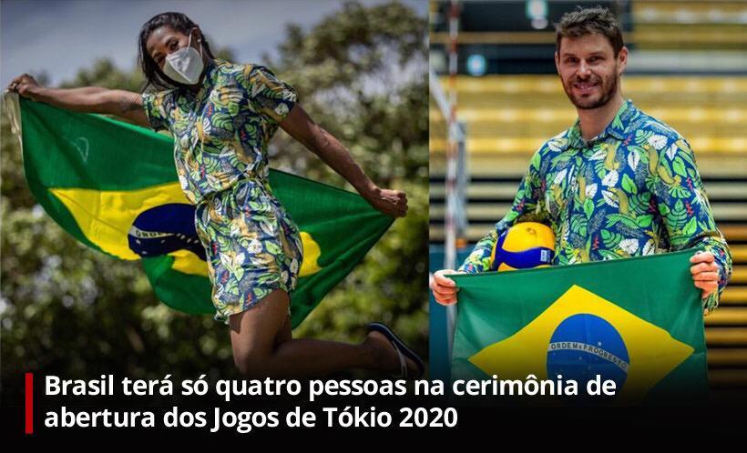 Na imagem, duas estrelas dos jogos olímpicos