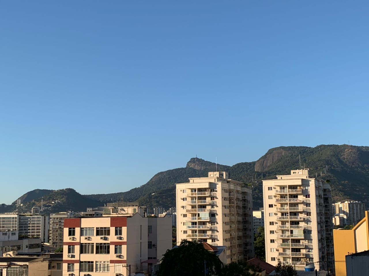 Na imagem, paisagem de São Cristóvão, na Zona Norte do Rio de Janeiro