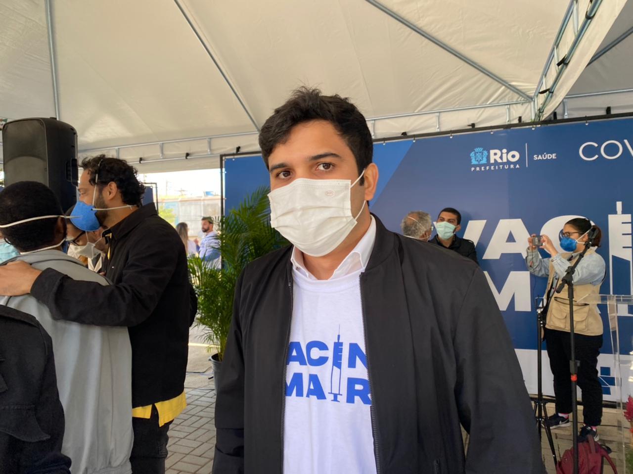 Na imagem, Renan Ferreirinha, Secretário Estadual de Educação