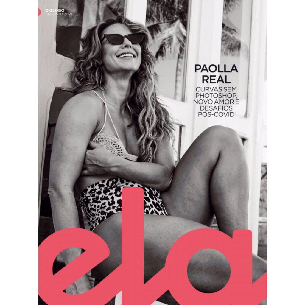 Paolla Oliveira na capa da Revista Ela do Jornal O Globo