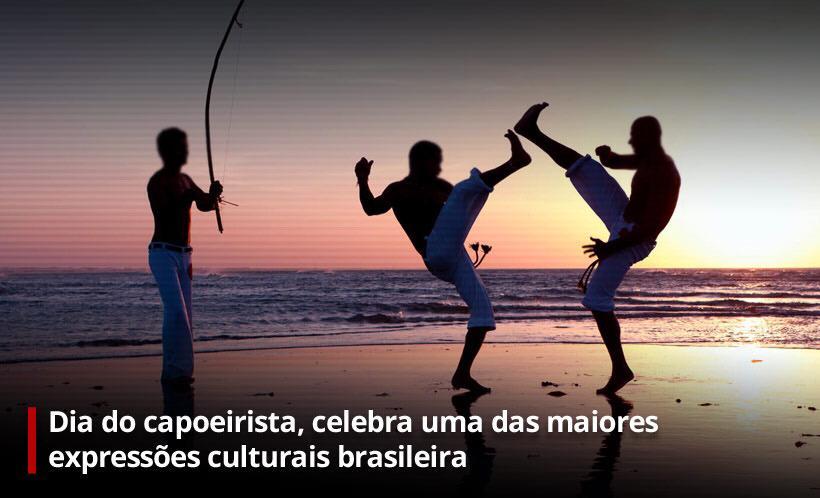 Na imagem, sentinelas da Tupi especial dia do capoeirista
