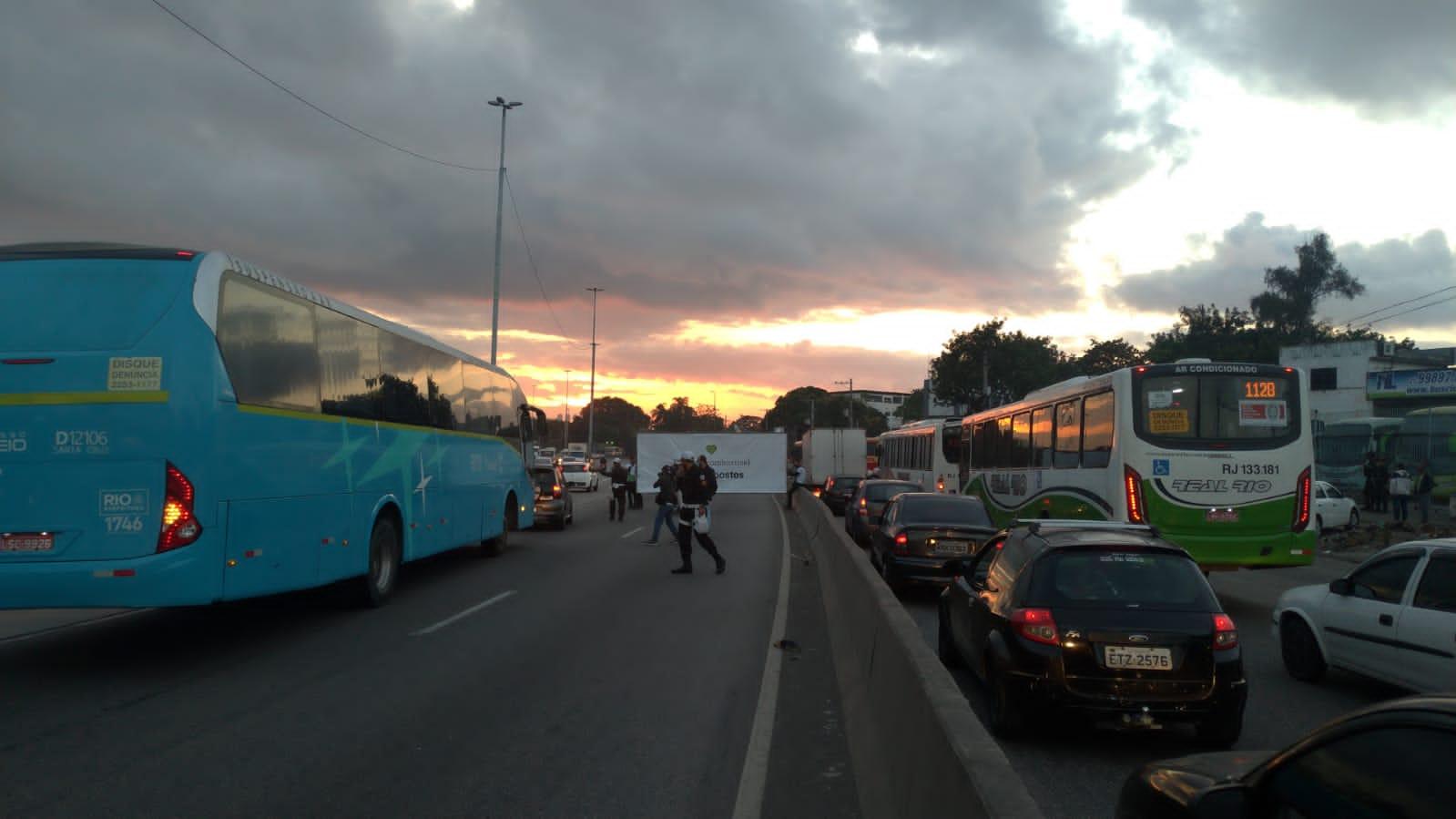 Manifestação Avenida Brasil