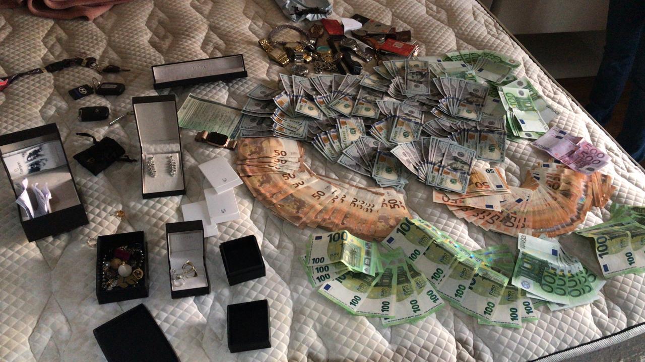 dinheiro apreendido core