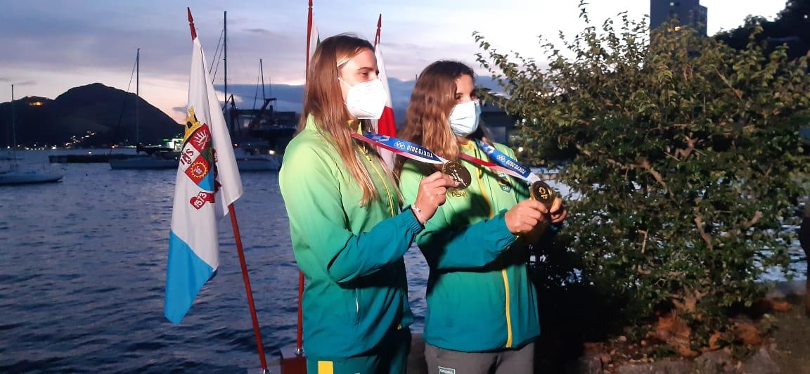 Martine Grael e Kahena Kunze
