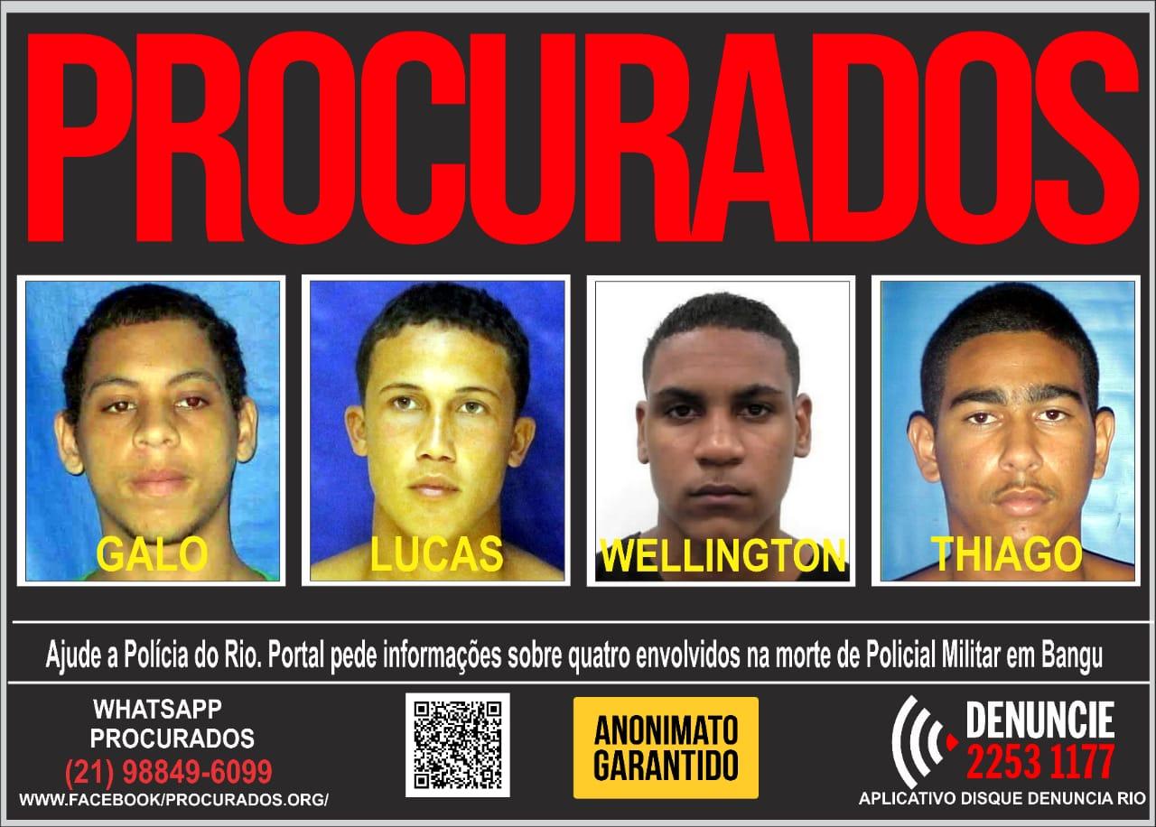 Portal dos Procurados divulga cartaz para ajudar nas investigações
