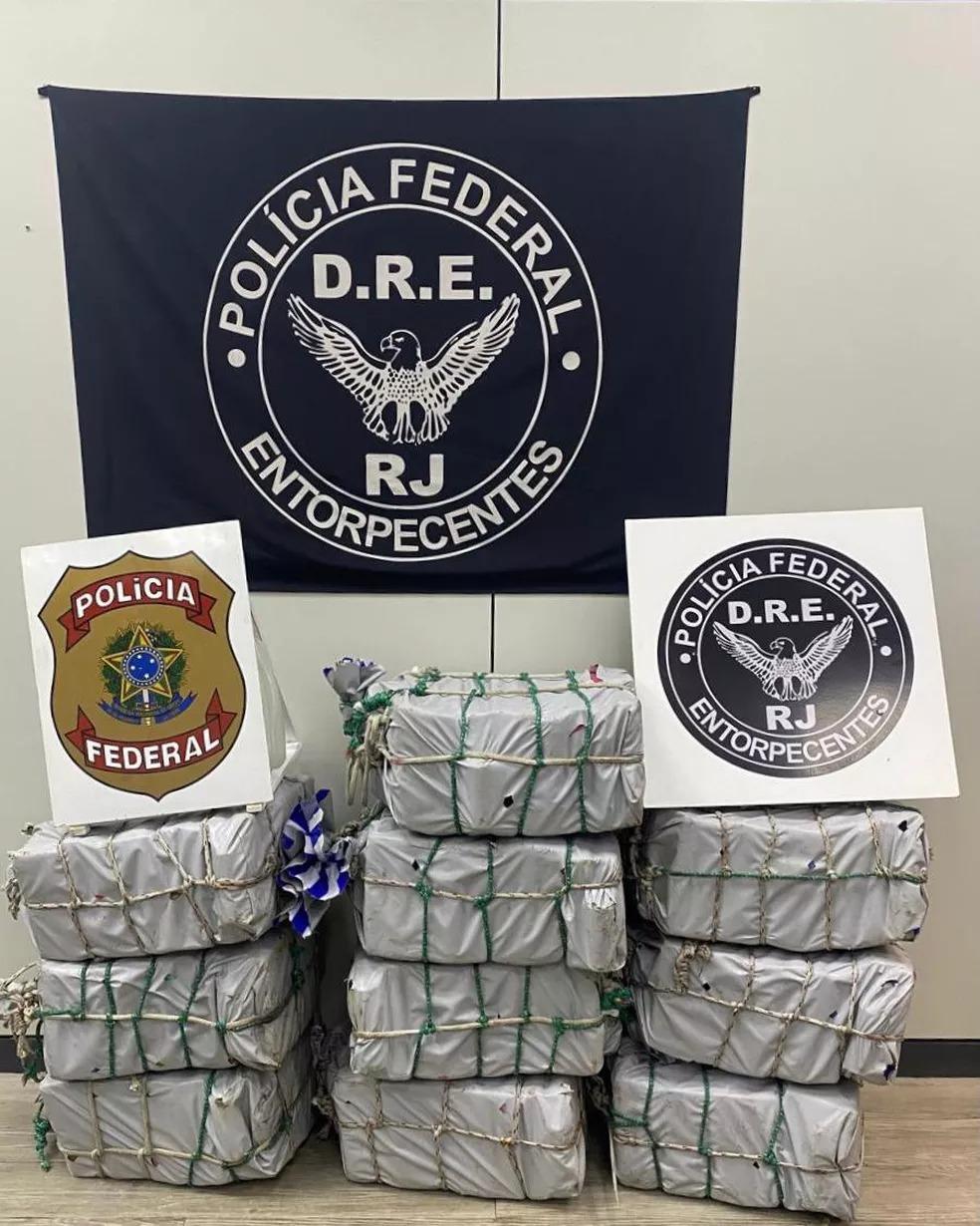 PF apreende 400 kg de cocaína escondidos em casco de navio que iria para a Europa