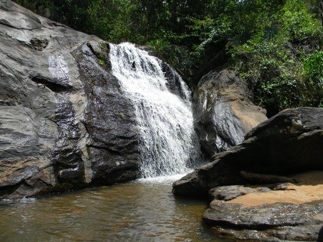 Na imagem, Cachoeira Bonsucesso no Parque Estadual da Serra da Concórdia