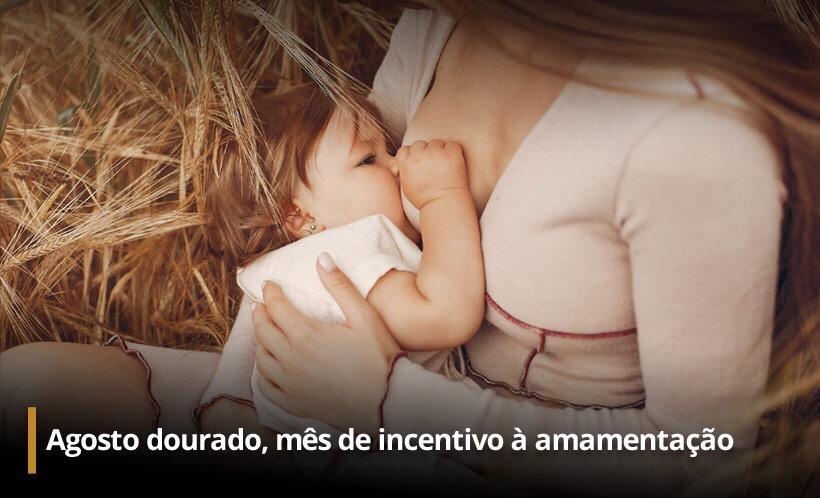 Na imagem, Agosto dourado sentinelas da tupi especial mês do aleitamento materno
