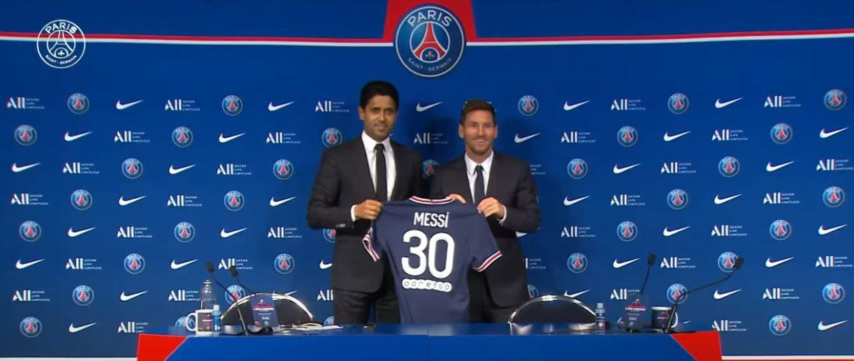 Messi é anunciado oficialmente no PSG
