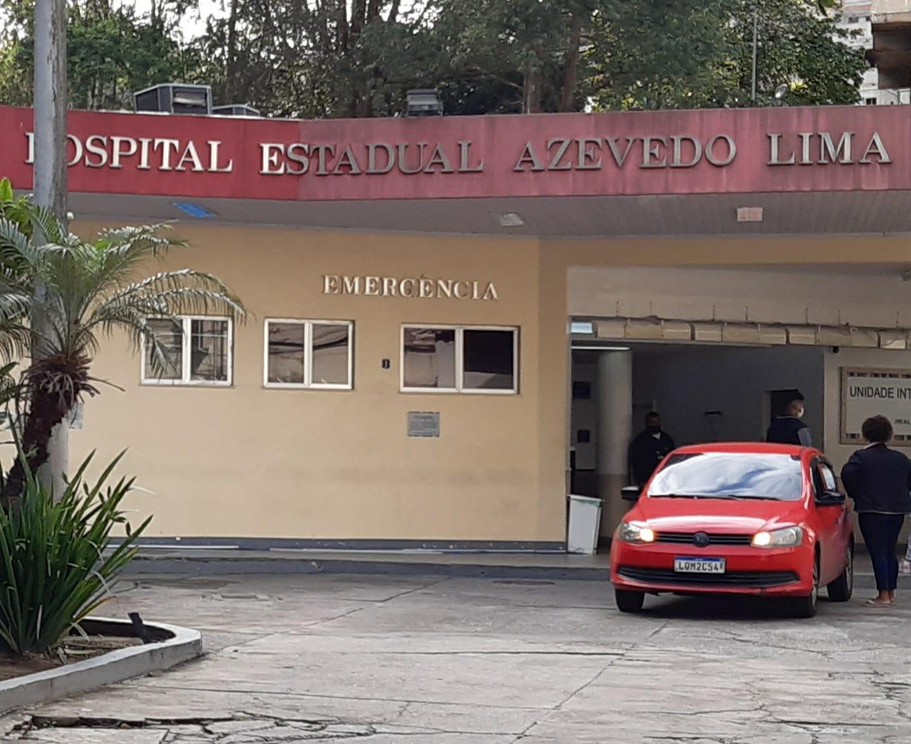 Na imagem, frente do Hospital Azevedo Lima