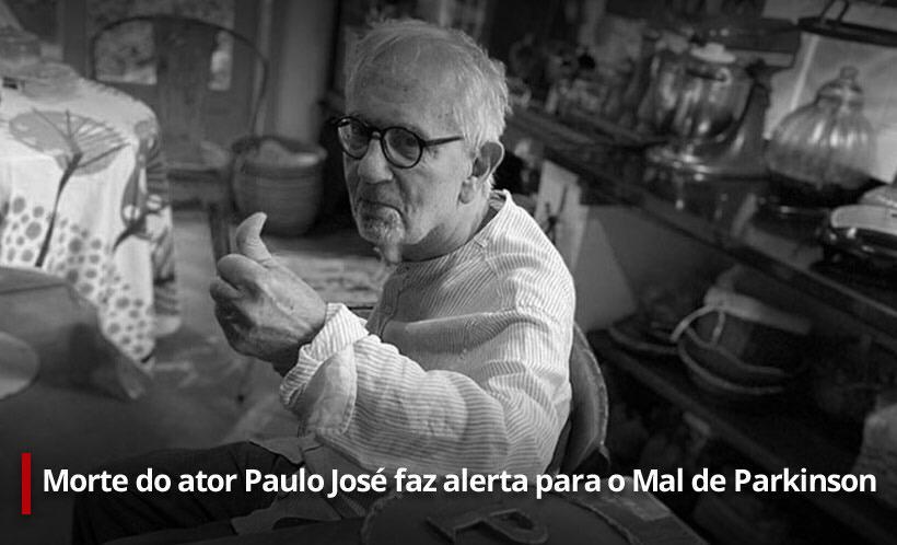 Na imagem, ator Paulo José especial Sentinelas da Tupi sobre o Mal de Parkinson