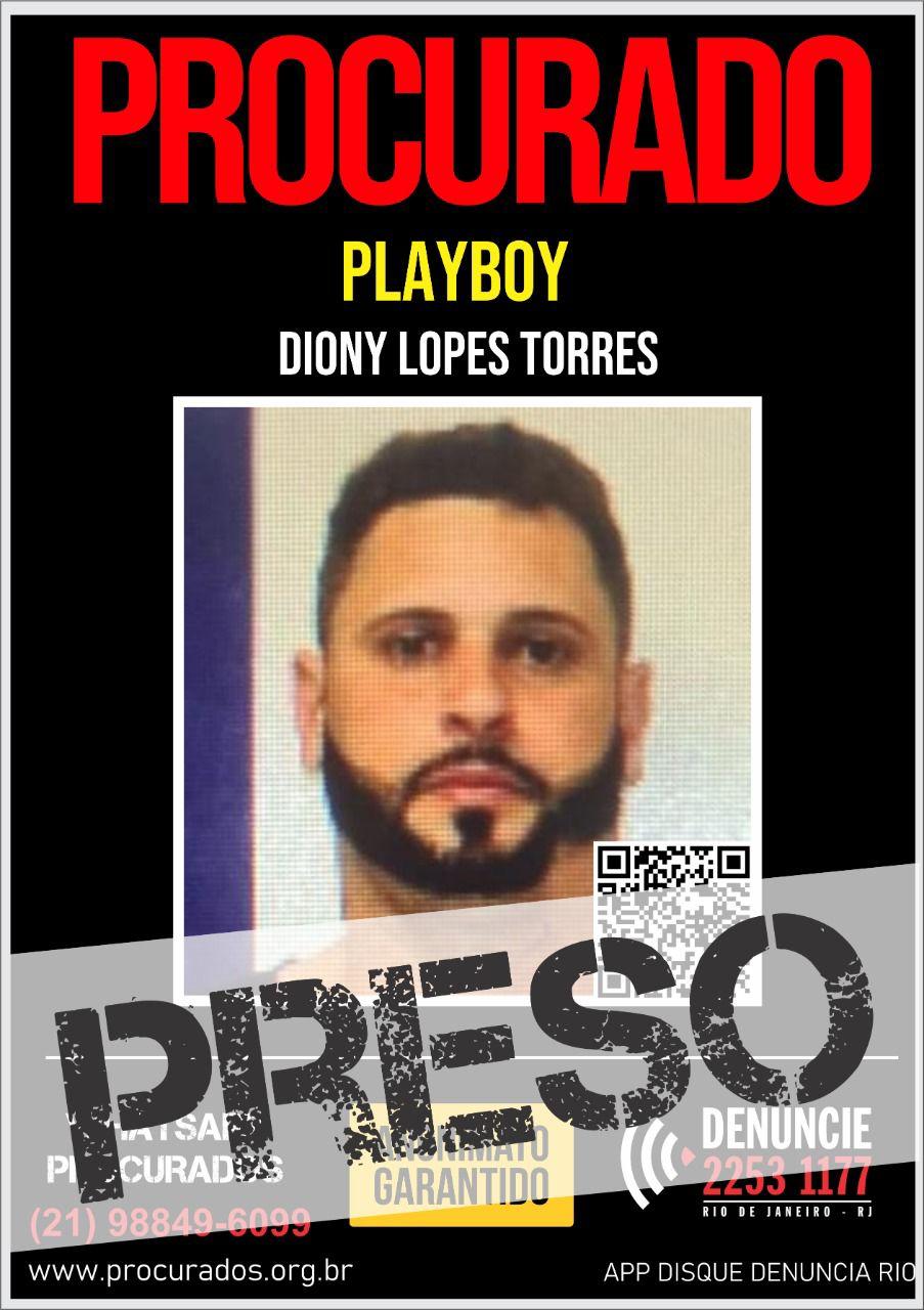 Traficante Playboy é preso pela Polícia Civil